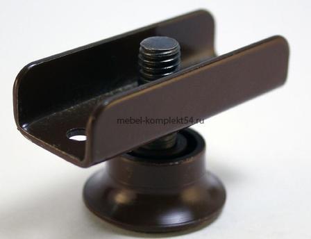 Опора рег. М8 коричневая