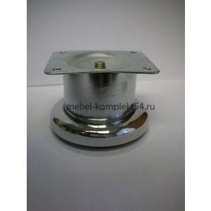 Опора  декорат.метал. 1031 Н-60мм хром