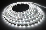 Светодиодная лента 3528В-60 W 5м 60smd/m 12В 4,8Вт/м 5лм, белый, холодный