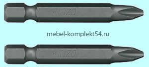 26003-1-50-2 Биты Зубр, , РZ №1, 50мм
