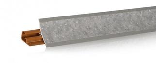 Плинтус  LB-23 3м камешек гриджио 614