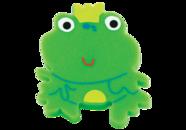 Ручка кнопка RC513 зеленая(лягушка)