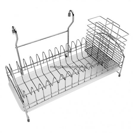 Cушка для посуды  на рейлинг AE-665 (410*190*245)
