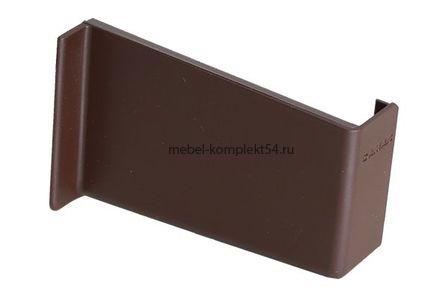 Крышка для подвески 806.14, левая, коричневая