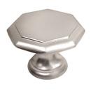Ручка кнопка 8630,  матовый хром