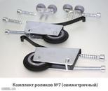 Комплект роликов симметричных 37,5*19 (2+2)+саморез 6*35