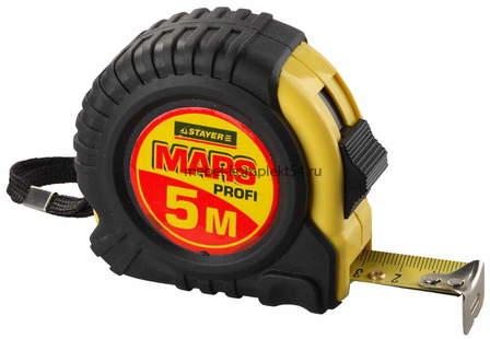 "34131-05-25 Рулетка STAYER ""MARS"", 5м*25мм"