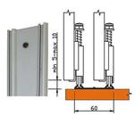 Направляющая  двухполозная для РКМ-60, 3м