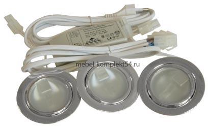 Комплект С.Г. FT9216*3 арт.1 хром