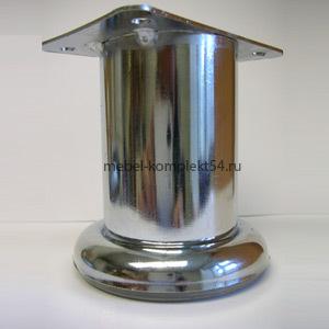 Опора  декорат.метал. 1031 Н-80мм хром