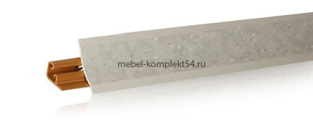 Плинтус  LB-23 3м камешек бьянко 601