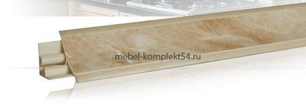 Плинтус  LB-23 3м мрамор лосось 675