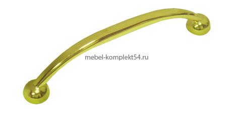 Ручка-скоба 2061, золото, 96мм