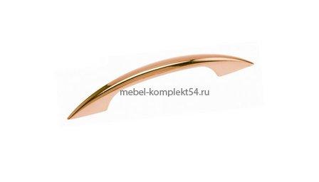 Ручка-скоба 1028, золото, 96мм