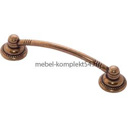 Ручка-скоба 1011 старая бронза 96мм