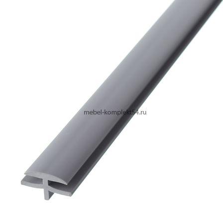 Профиль соединительный для лотков, серый (49 см)
