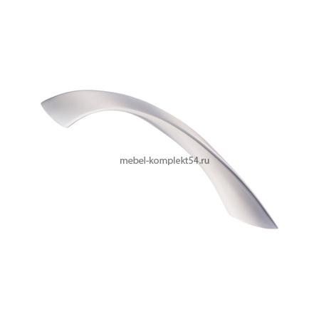 Ручка-скоба, 2180, 96 мм, матовый хром