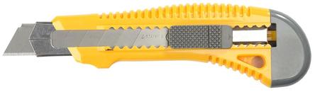 """Нож Stayer """"Мастер"""" с выдвижным сегмент. лезвием, пластмасс. упроч., 18мм 0913"""