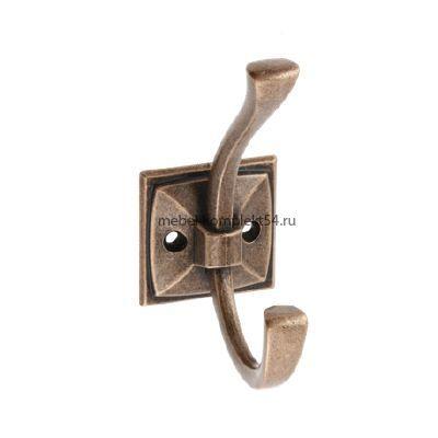 Крючок мебельный MADRYT, античная медь
