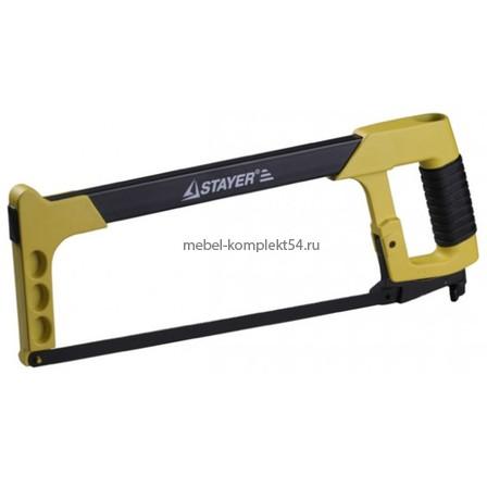Ножовка Stayer  Профи по металлу натяжная, двухкомпонентная ручка, 300мм/24PI