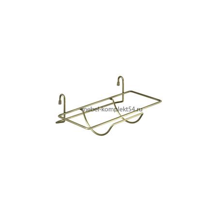 Полка для бумажного полотенца, бронза