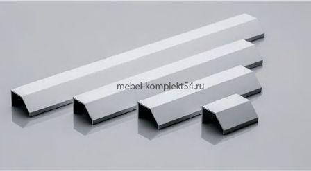 Ручка мебельная алюминиевая PAXO 224/250 алюминий