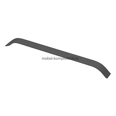 Ручка мебельная алюминиевая UA-OO-337/160 черный матовый