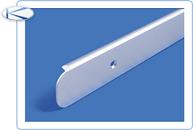 Планка торцевая для столешниц, матовая 28мм