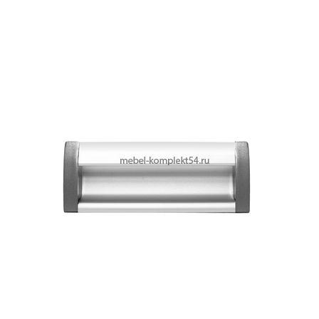 Ручка мебельная алюминиевая UA-OO-326/096 алюминий