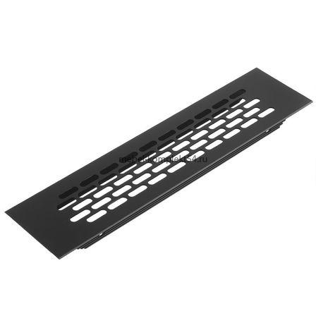 Решетка вентиляционная 245*60 мм, черная