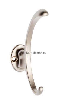 Крючок мебельный WZ-D-892-02 сатин