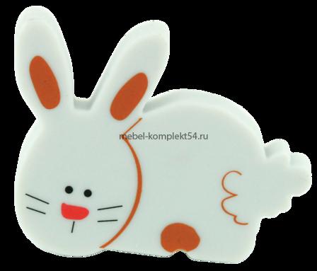 Ручка кнопка RC517 серый(зайчик)