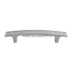 Ручка-скоба 6001, хром, 128мм