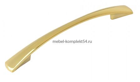 Ручка-скоба 1052, золото, 96мм