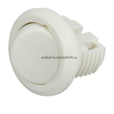 Выключатель D27 встраиваемый IP20,5A,250B(27х27х21мм),белый