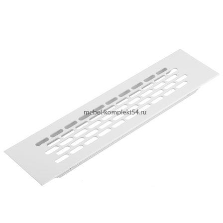 Решетка вентиляционная 245*60 мм, белая
