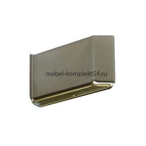 Декоративная крышка Skarpi-4, металл никель, левая