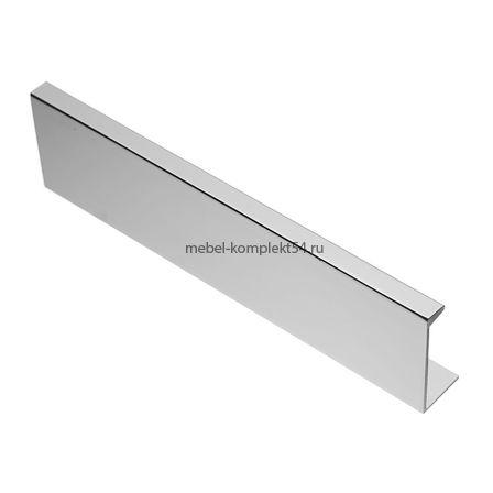 Ручка мебельная алюминиевая HEXI 96мм/150мм, алюминий