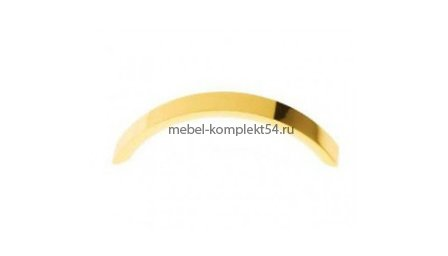 Ручка-скоба 8875, золото 128