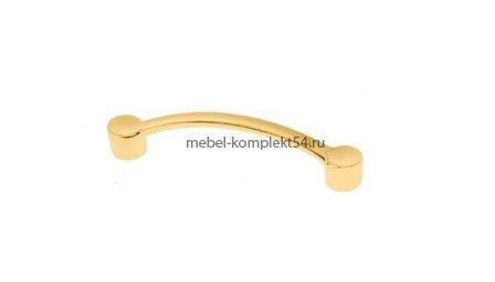 Ручка-скоба 1091, золото, 96мм
