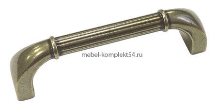 Ручка скоба RS082 АВ бронза, 96мм