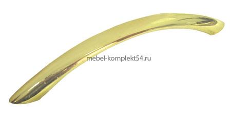 Ручка-скоба 8874, золото, 128мм