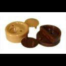 Стеклодержатель коричневый