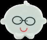 Ручка кнопка RC519 серая(мальчик)