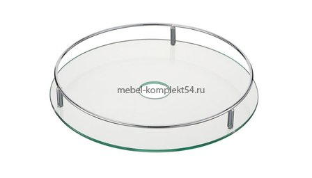 Полка центральная стекло PTJ016-42A, 360*40мм