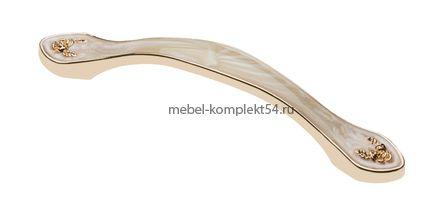 Ручка ROYAL4 L-096, янтарный/золото