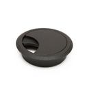 Розетка для компьютерного стола черная