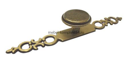 Ручка кнопка RC039, бронза