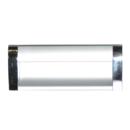 Ручка-купе к033-128 160мм (хром/серебро)