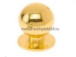Ручка кнопка 8354, золото